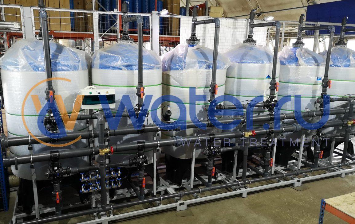 Системы очистки воды EСT (станция адсорбции воды)